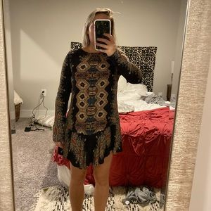 Free People Tunic - worn as dress by 5'2 person